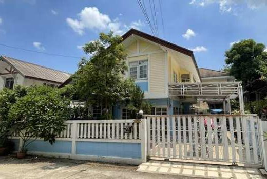ขายบ้านเดี่ยว ทำเลดี หมู่บ้านสหกรณ์การบินไทย แจ้งวัฒนะ 43